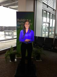 Advanced Virtual Assistant (AVA) Long Beach Airport, hologram, airport hologram